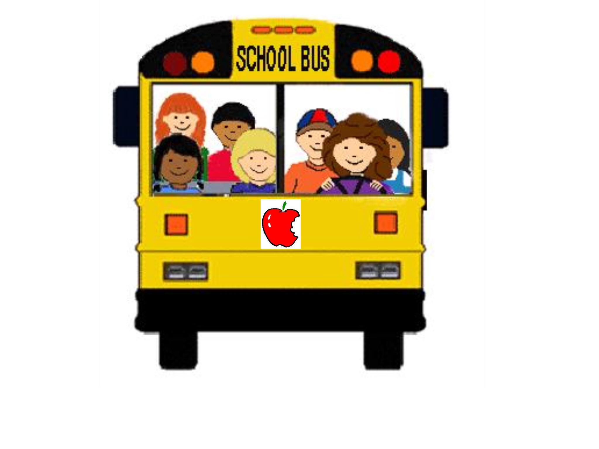 2048x1536 Silhouette Activity Bus Clipart
