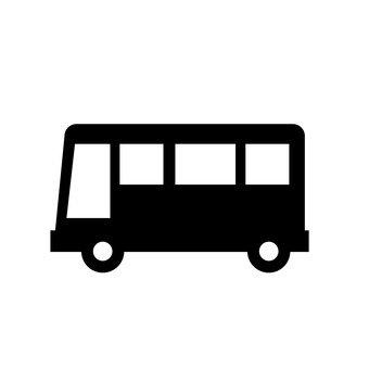 340x340 Free Silhouettes Toy, Silhouette, Bus