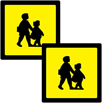 School Children Silhouette