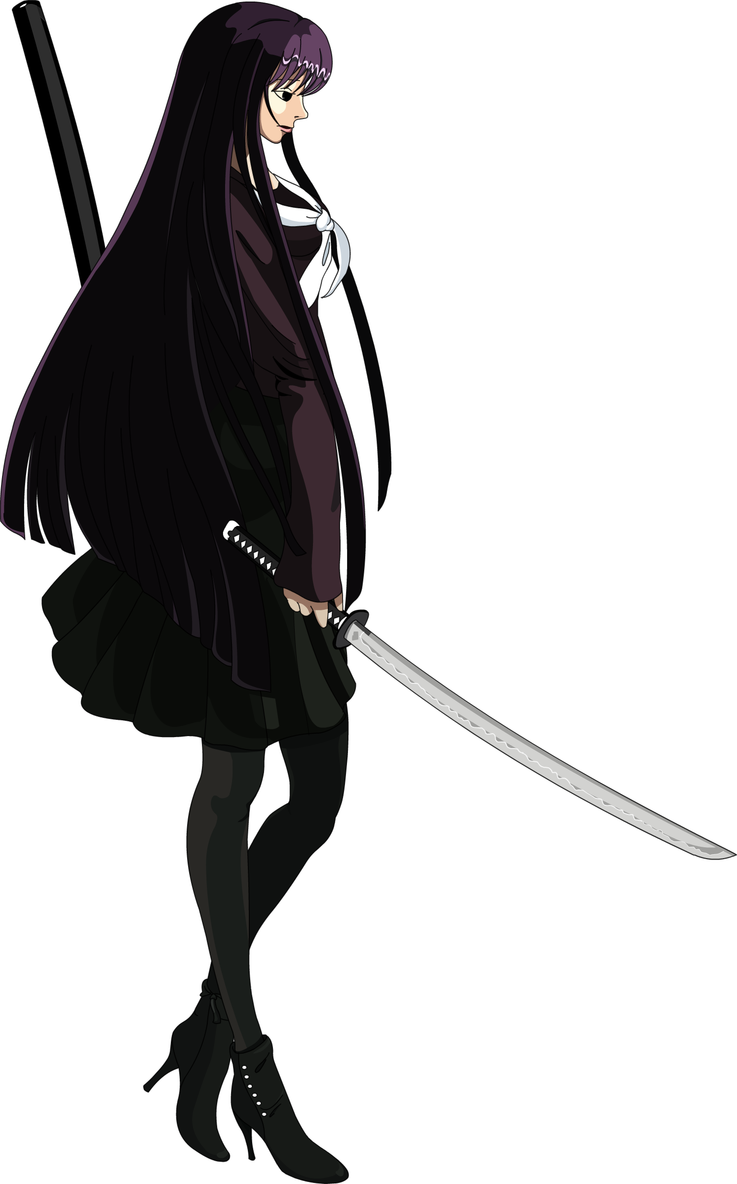 School Girl Silhouette