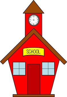 236x339 Red School House Clip Art