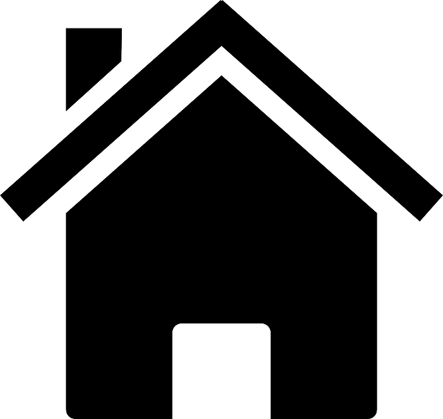640x605 Silhouette Of A House Group