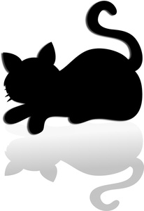 206x300 Free Cat Silhouette Clipart Image 0515 1004 0101 1518 School Clipart