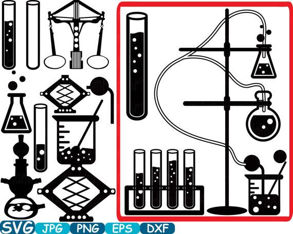 570x456 Science School Svg Cutting Files Monogram Clipart Silhouette Math