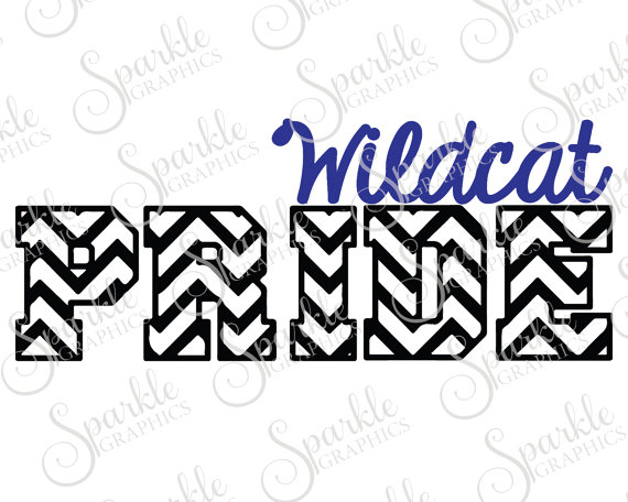570x456 Wildcat Pride Cut File Wildcat Svg Wildcat Mascot Mascot Svg High