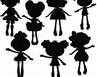 340x270 Scooby Doo Silhouettes Clipart Clip Art Digital Scrapbooking