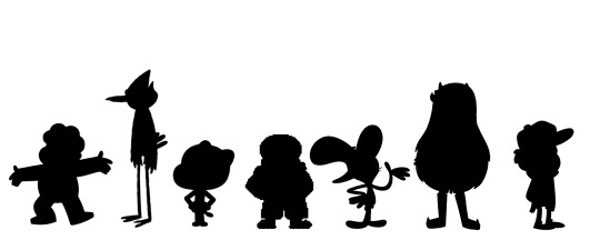 540x216 Cartoon Silhouette Tumblr