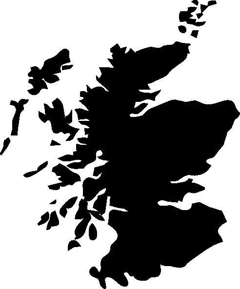 492x593 Scotland Outline Clip Art