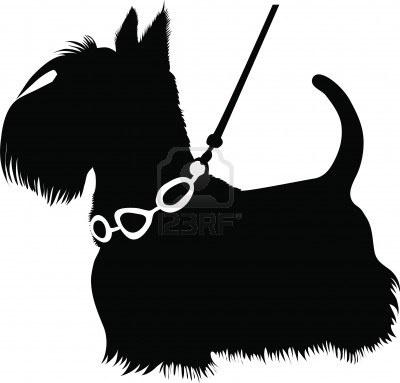 400x383 24 Best Silhouette Scotties Images On Scottie Dogs