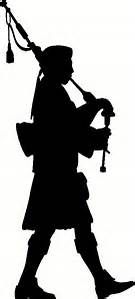 135x299 Highland Games Silhouette