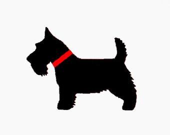 340x270 Brick Stitch Scottish Terrier Dog Beading Pattern Miyuki