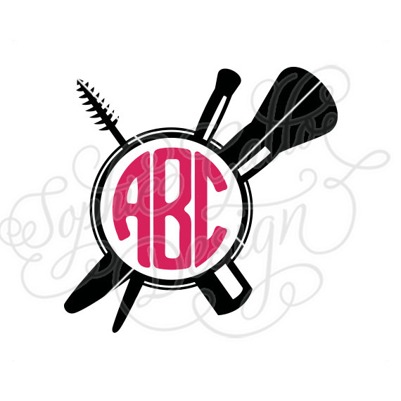 570x570 Makeup Stylist Monogram Svg Dxf Png Digital Download File