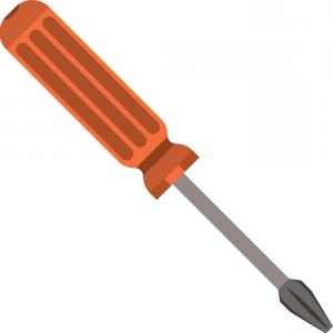 300x300 Colorful Silhouette Of Phillips Screwdriver Vector Shopatcloth