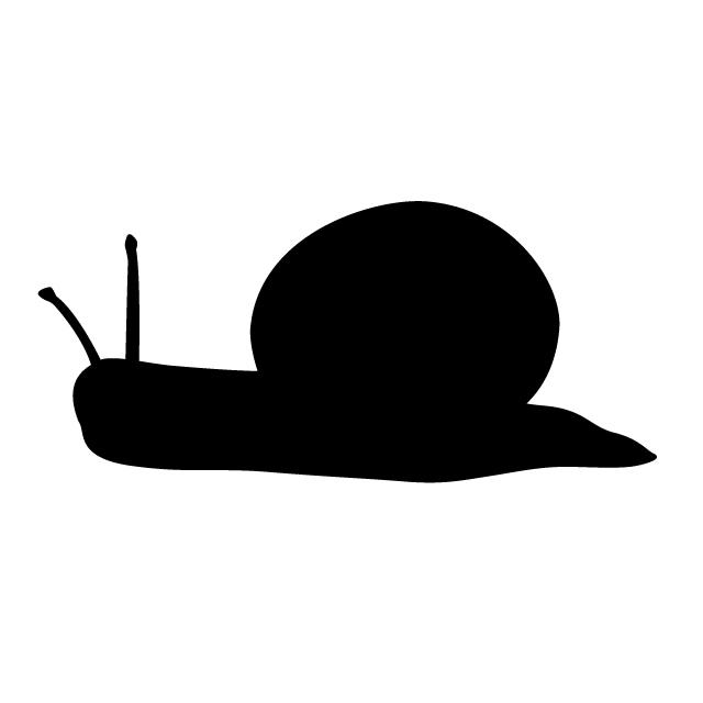 640x640 Snail Animal Silhouette Free Illustrations