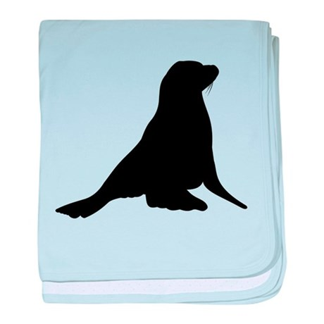 460x460 Sea Lion Baby Blankets