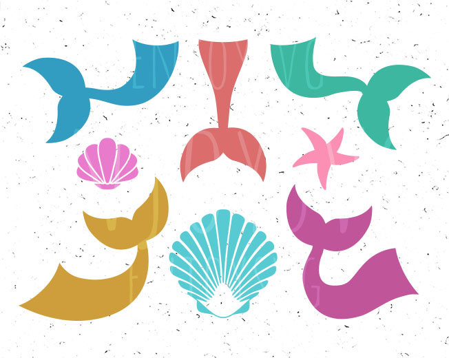 652x520 Mermaid Tail Svg Mermaid Tails Svg Mermaids Tails Svg Sea Shells