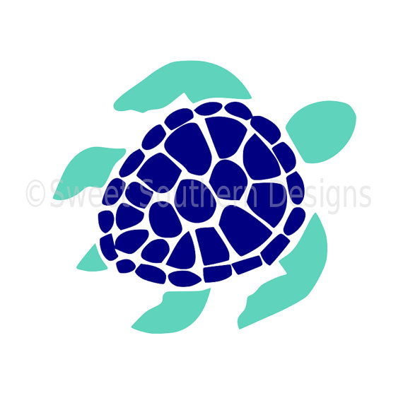 570x570 Sea Turtle Svg Instant Download Design For Cricut