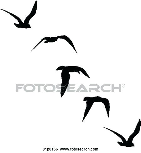 450x488 Seagull Silhouette Download At Jonathan Livingston Seagull Outline