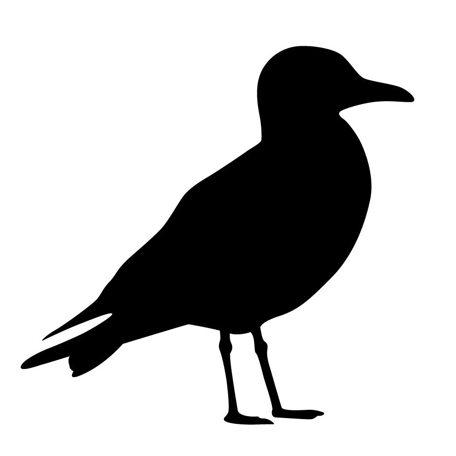 937x937 Seagull Silhouette Stencil Templates Stenciling