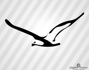 340x270 Seagull Silhouette Etsy