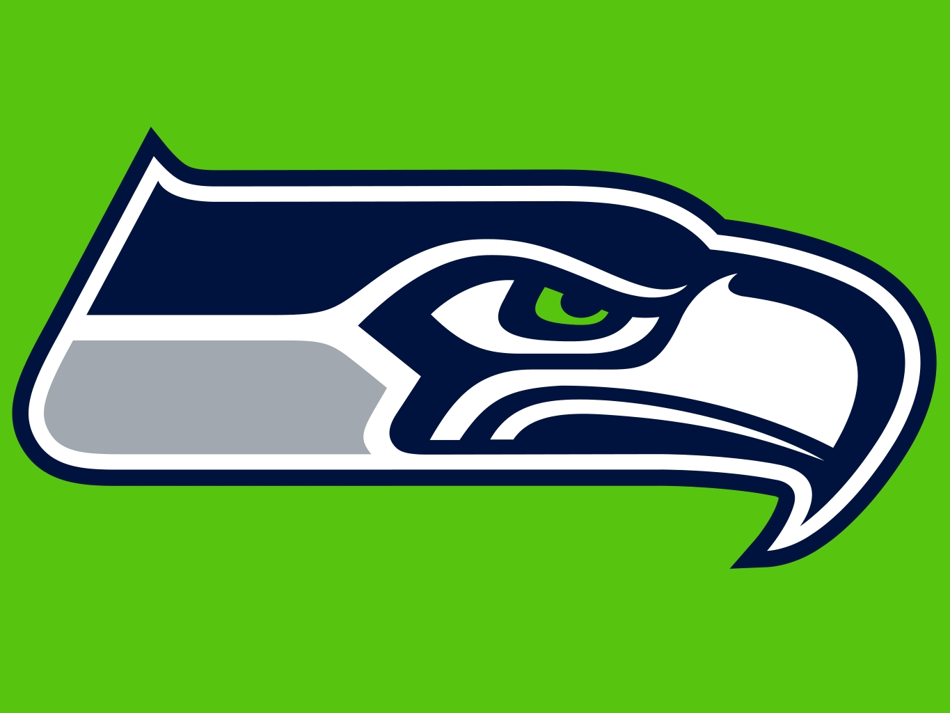 photograph about Printable Seahawks Logo titled Seahawk Silhouette at  Totally free for specific