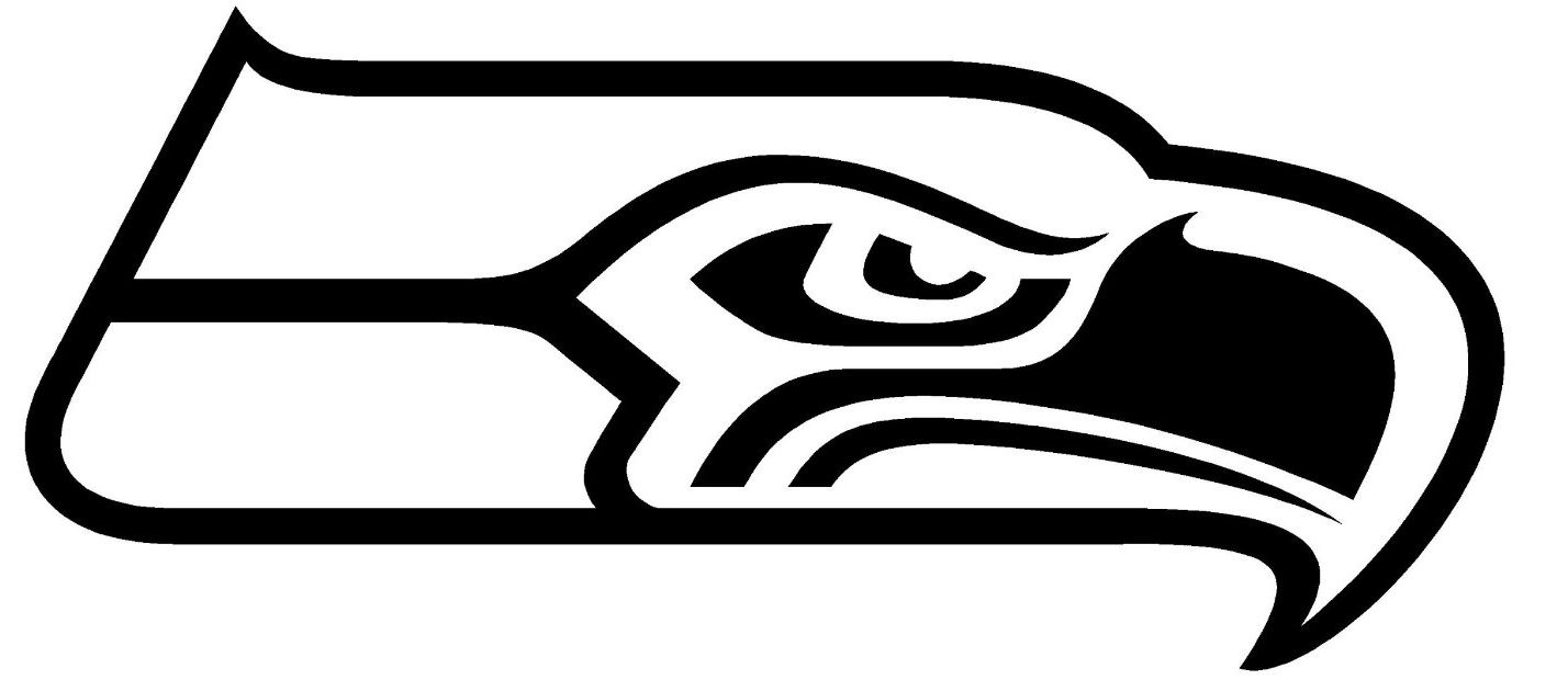 seahawk silhouette at getdrawings com free for personal use rh getdrawings com seahawks clip art black and white seahawks clipart free