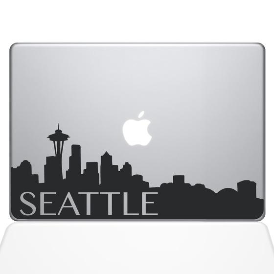 560x560 Seattle Skyline Macbook Decals The Decal Guru