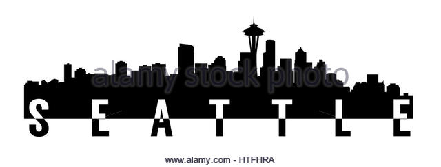 640x243 Seattle Skyline Cut Out Stock Images Pictures Alamy Seattle