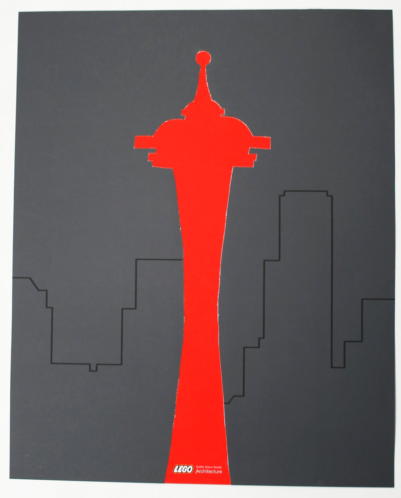 1288x1600 Poster Design Artc4314h Maynard, Space Needle