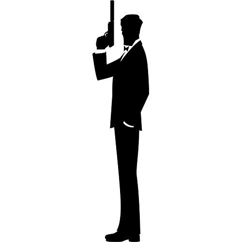500x500 Set Of 11x17 4 Secret Agent Silhouette Art Posters. Spy Film