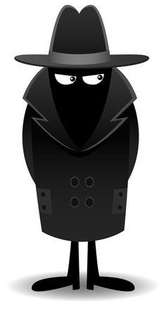 236x439 Spy Secret Agent Clipart