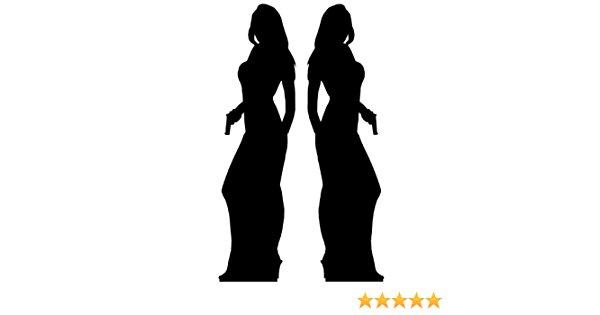 600x315 Secret Agent (James Bond Style) Girl Double Pack