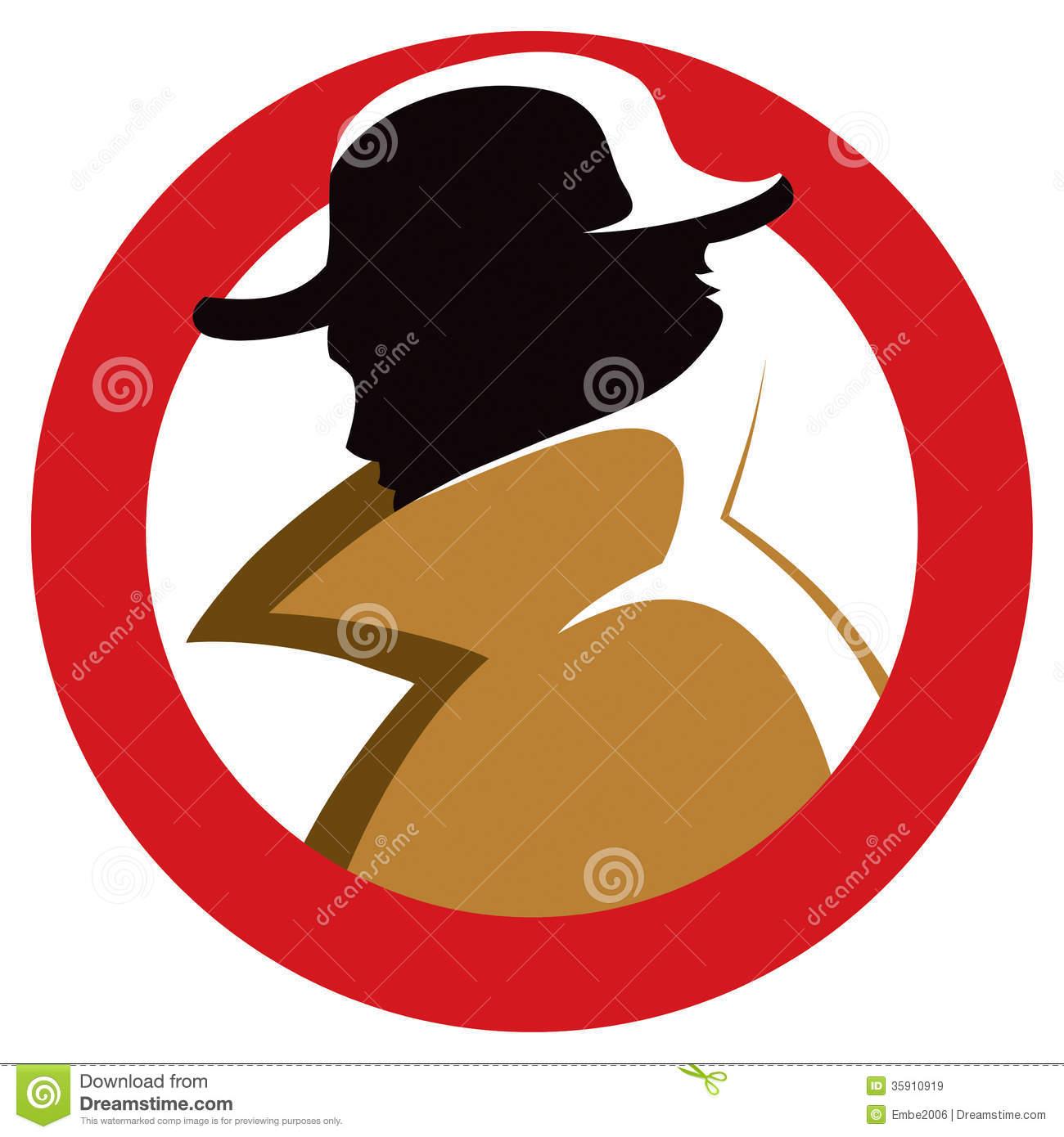 1300x1390 Hat Clipart Secret Agent