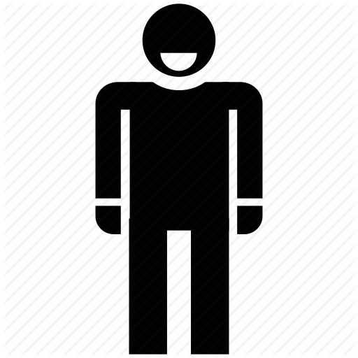 512x512 Avatar, Man, Man Standing, Security Guard, Security Officer