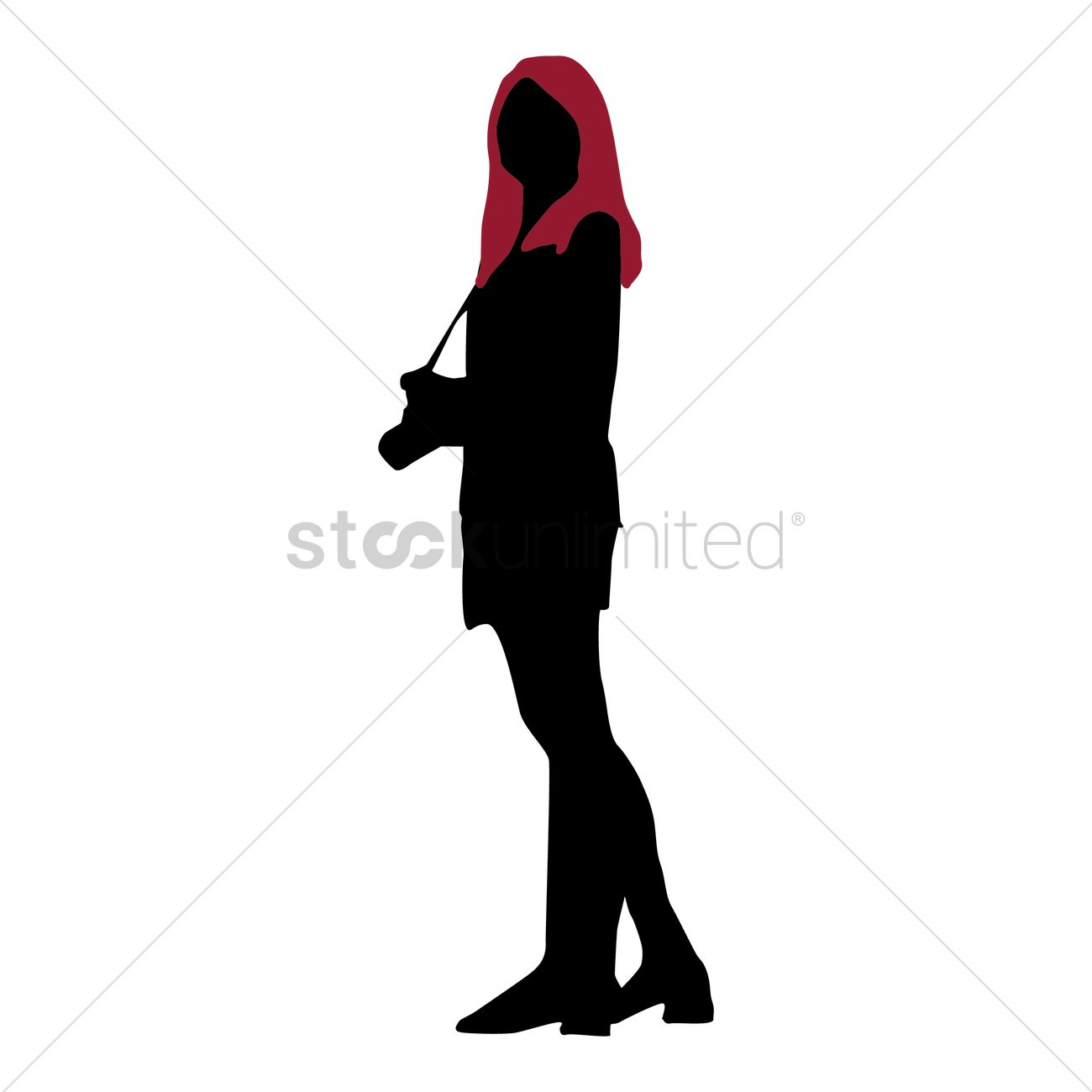 1300x1300 Security Systems Silhouette Of A Girl Holding Camera 1446908
