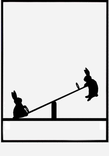 Seesaw Silhouette