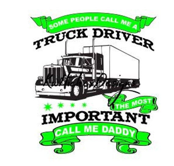 570x543 Truck Driver Svg Svg File 18 Wheeler Svg Semi Truck Svg T