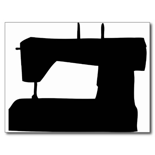 512x512 Sewing Machine Silhouette
