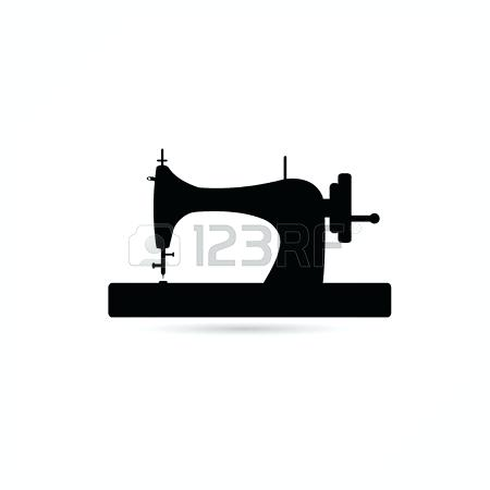 450x450 Sewing Machine Silhouette
