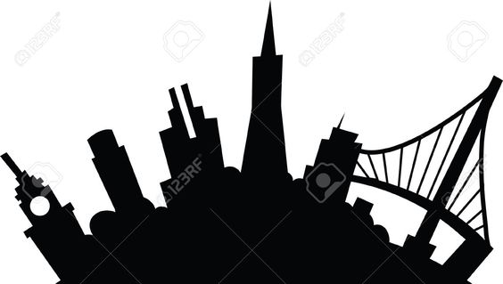 564x319 Silhouette Of San Francisco Skyline