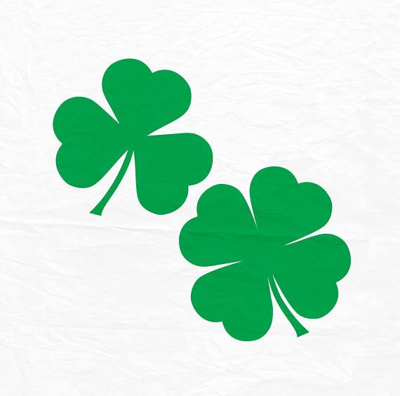 570x564 Saint Patricks Day Svg Clover Svg Shamrock Svg Four Leaf