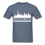 190x190 Shanghai China Skyline Silhouette By Kwg2200 Spreadshirt