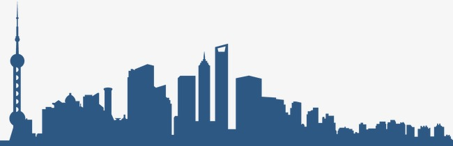 650x210 City Silhouette, Shanghai, City Png Image And Clipart For Free