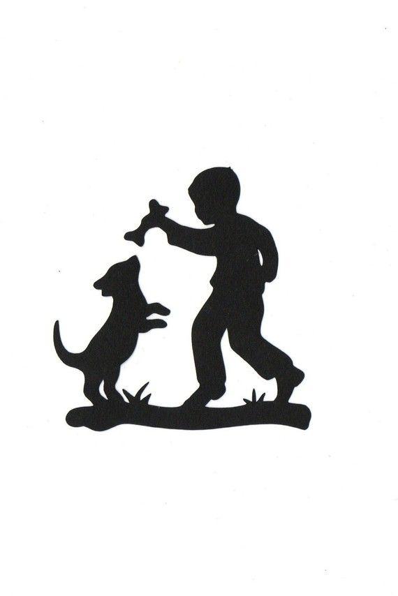 570x854 Lab Dog Silhouette