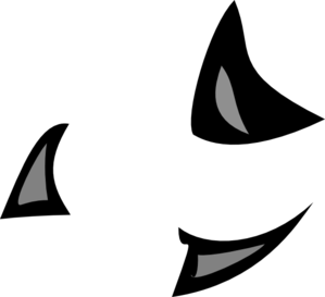 299x273 Shark Fin Free Cartoon Shark Clipart Outline And Silhouette