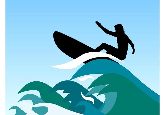 700x490 Surfer Waves Vector