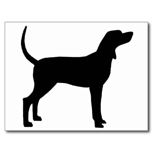 512x512 Coonhound Silhouette For Tattoo My Life