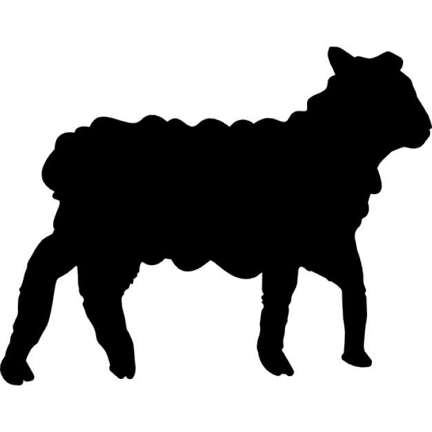 sheep vector silhouette at getdrawings com free for personal use rh getdrawings com vector silhouette landscape vector silhouette clip art