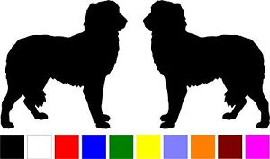 300x177 2 Maremma Sheepdog Dog Breed Home Car Windows Silhouette Vinyl