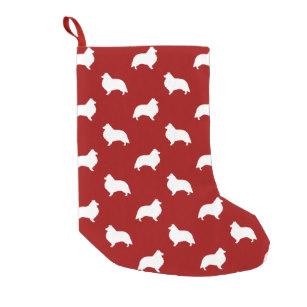 307x307 Sheltie Christmas Stockings Zazzle